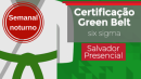 Green Belt Salvador Setembro/2019   Presencial