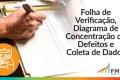 Folha de Verificação, Diagrama de Concentração de Defeitos e Coleta de Dados