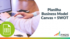 Planilha Business Model Canvas + SWOT | FM2S