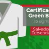 Certificação Green Belt   Presencial Salvador
