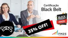 Certificação Lean Seis Sigma Black Belt - 25% OFF
