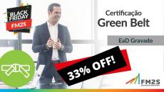 Certificação Lean Seis Sigma Green Belt - 33% OFF