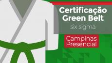 Green Belt Campinas Maio/2020 | Presencial Sábados